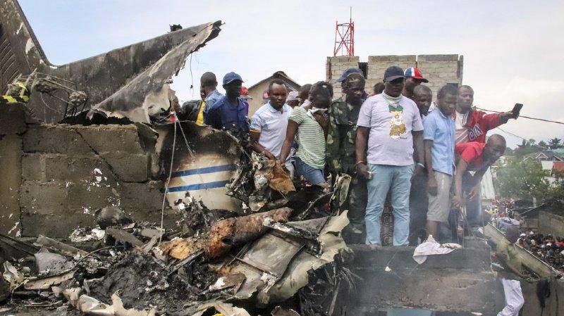 L'appareil s'est écrasé sur un quartier populaire de la ville.