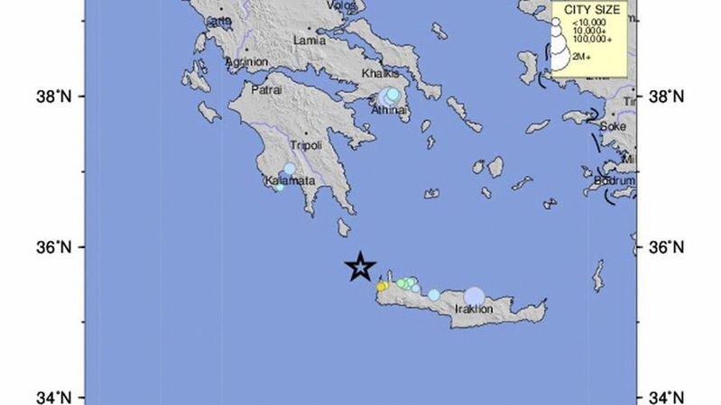 Le séisme a été enregistré à une magnitude de plus de 70 km.