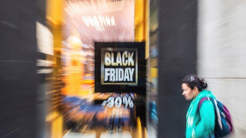 Sixième année consécutive pour le Black Friday en Suisse, qui remporte un franc succès (Illustration)