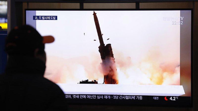 La dernière série de tirs nord-coréen remontait à près d'un mois.