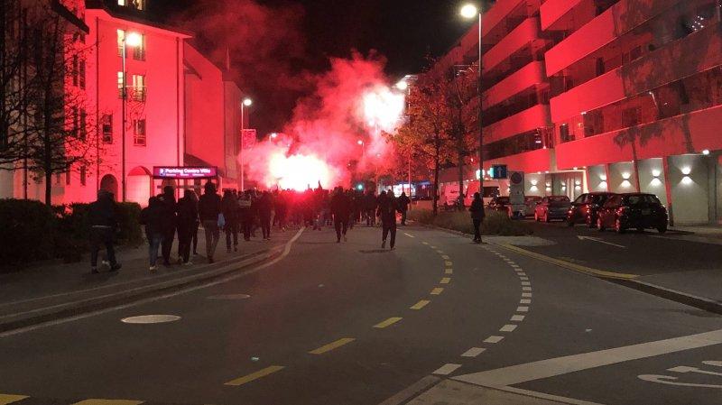 Hockey: des supporters de Genève-Servette bloqués sur le lac à Morges