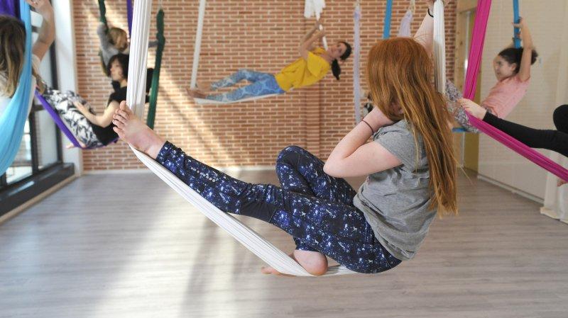 Stage de Yoga aérien