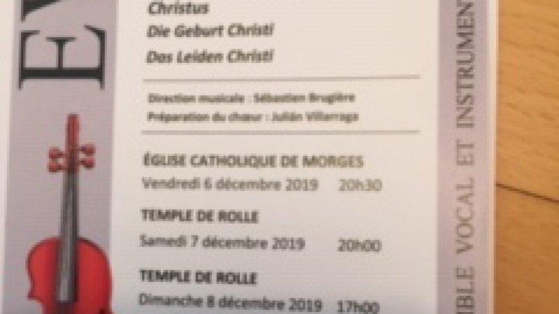 Chœur EVIR : concert Haydn-Mendelssohn