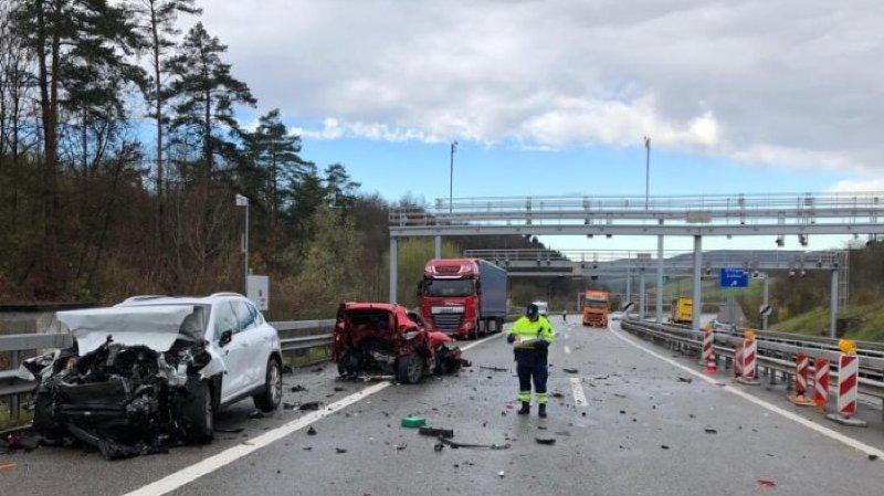 Argovie: trois personnes sont décédées dans un accident sur l'A3