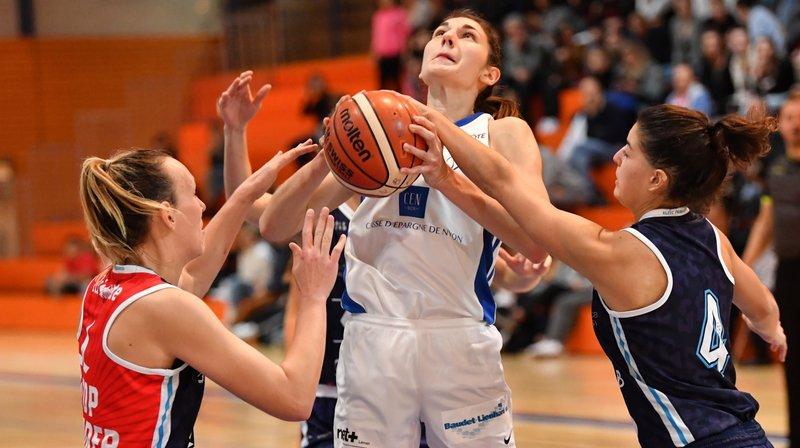 Nyon Basket Féminin s'incline chez Genève Elite