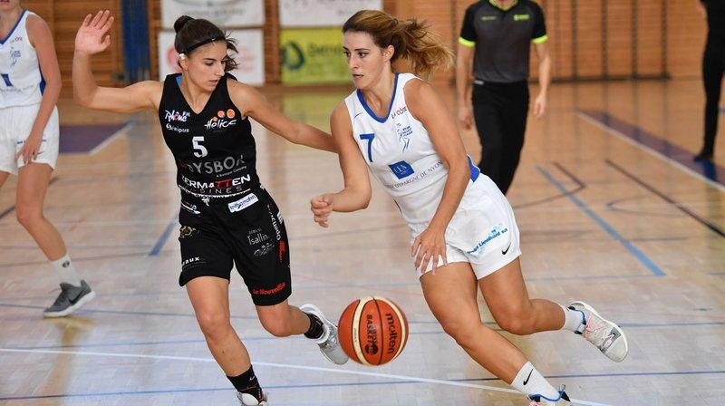 Aarau n'a laissé aucune chance au Nyon Basket Féminin