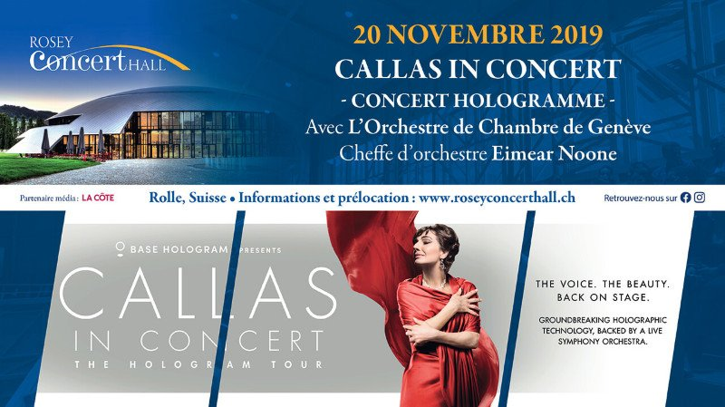 Callas in Concert - Rosey Concert Hall