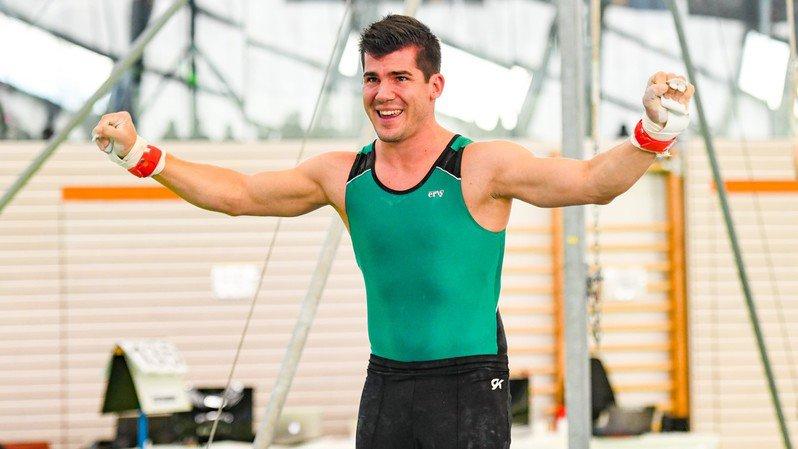 Un gymnaste morgien au cœur d'une grande première
