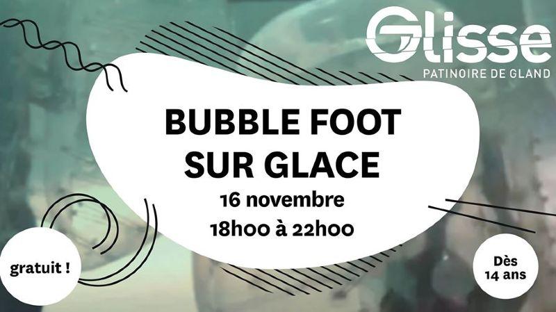Premier Bubble Foot sur Glace