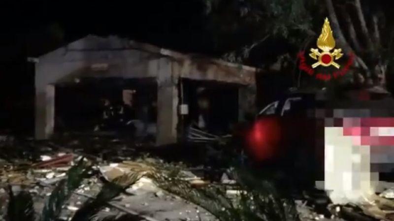 Sicile: cinq morts dans l'explosion d'un dépôt de feux d'artifice