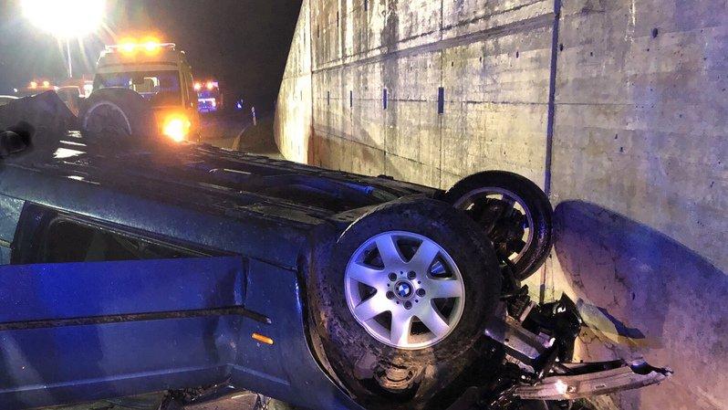 Valais: un automobiliste de 54 ans décède lors d'un accident
