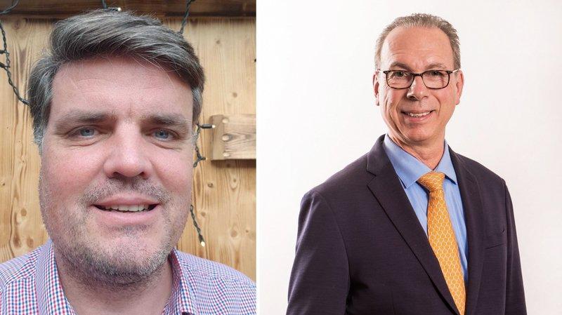 Mathieu Henry (à g.) et François Durafourg (à dr.) souhaitent s'investir pour le bien commun.