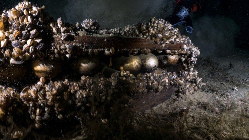 Les plongeurs d'Odysseus 3.1 ont fait une découverte explosive au fond du Léman.