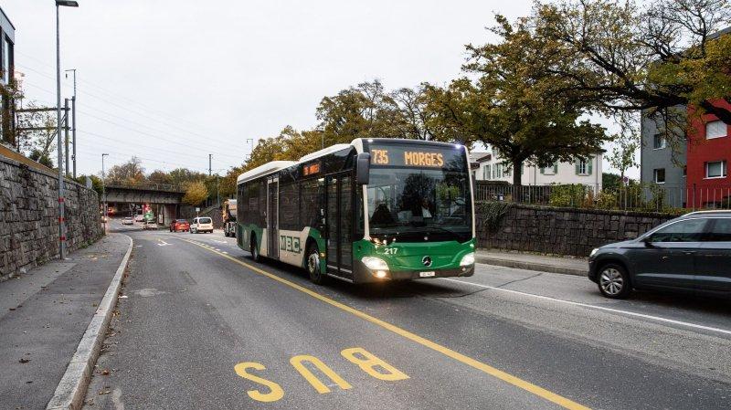 Morges: pourquoi les bus boudent-ils leur voie réservée?