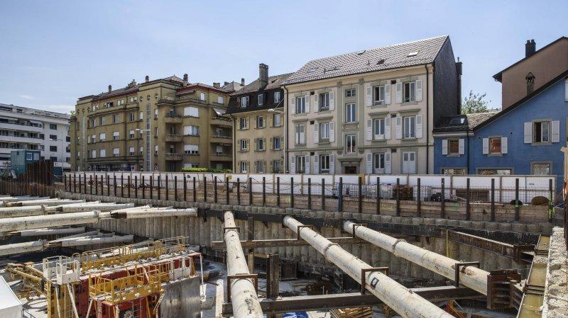 Morges: des béquilles en attendant Gare-Sud