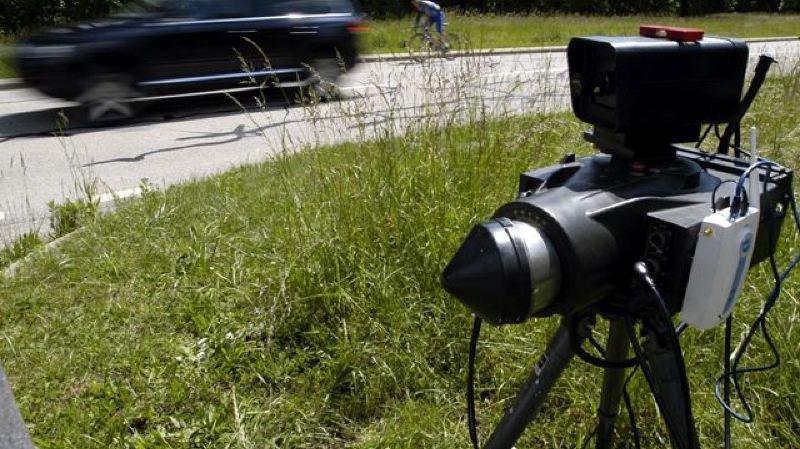 Chauffard flashé à 164km/h sur la route du Marchairuz