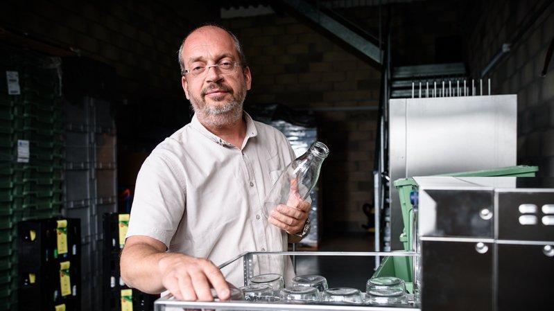 A Gimel, un entrepreneur favorise la récupération des contenants consignés