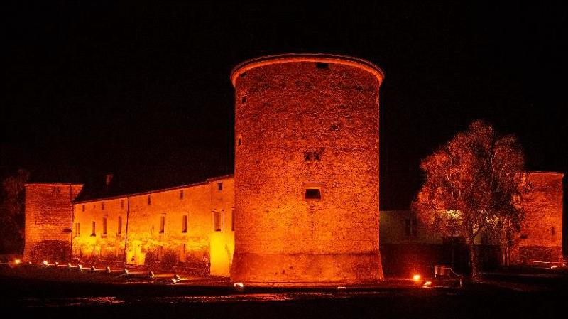 Le château de Rolle va virer à l'orange
