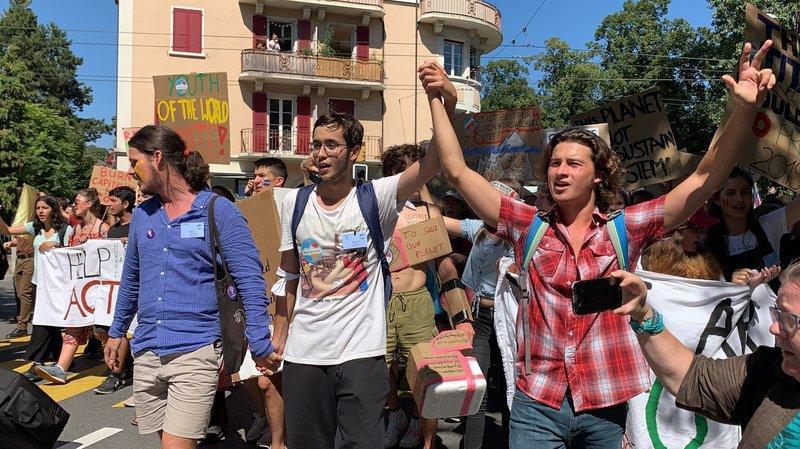 Vaud: la Grève du climat veut la place de Jacqueline de Quattro