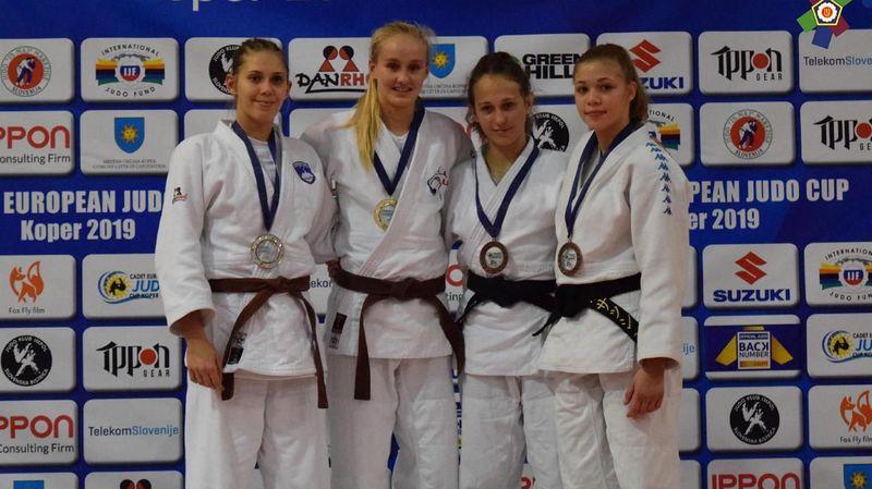 Aline Rosset décroche sa première victoire en Coupe d'Europe