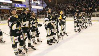 Hockey: Ajoie à nouveau seul en tête, Sierre battu