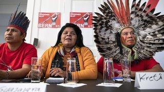 Berne: des autochtones brésiliens dénoncent l'accord AELE-Mercosur