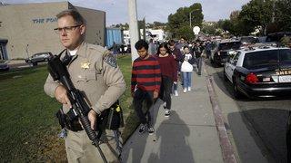 Etats-Unis: fusillade dans une école de Santa Clarita, deux morts et plusieurs blessés