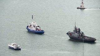 Moscou restitue des navires militaires à Kiev