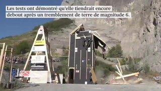 Une construction en bois résisterait à un séisme de magnitude 6
