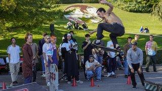 Nyon: les skateboardeurs ont dévalé au parc du bourg de Rive