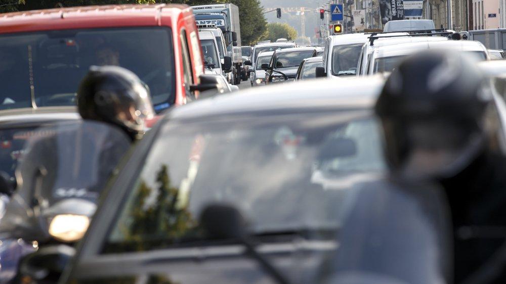 Lors des journées particulièrement polluées, le nombre de véhicules présents au centre-ville sera moindre.