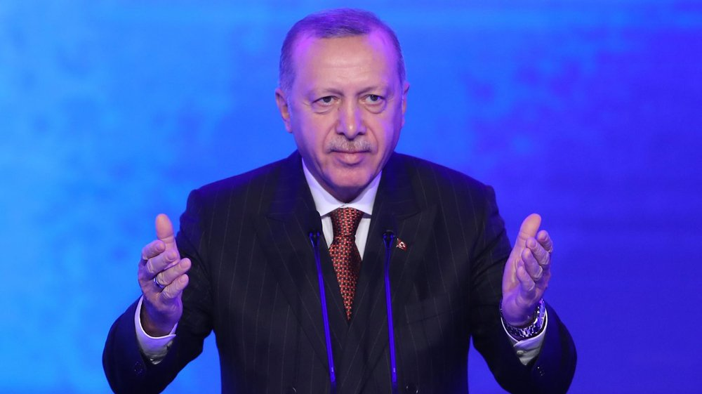 Le président turc Erdogan.