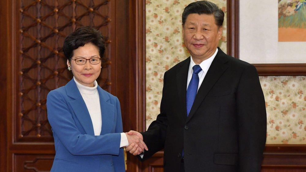Carrie Lam vient chercher le soutien de Pékin