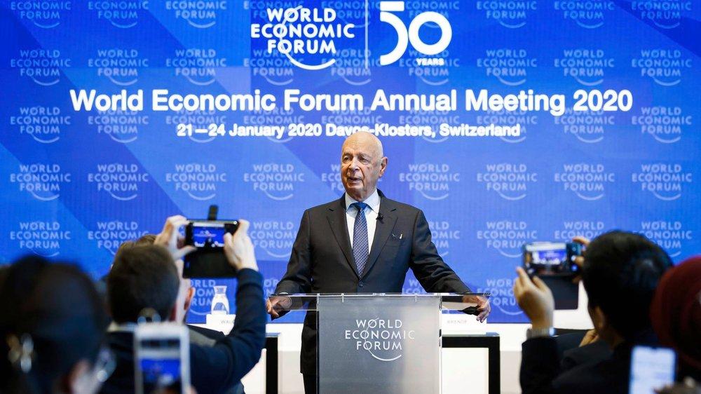Le patron du WEF, Klaus Schwab, a présenté, hier, les grandes lignes de la manifestation.