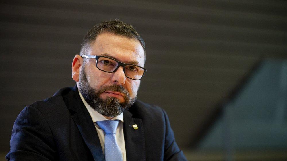 Philippe Jobin a été en contact étroit avec le syndic de Trélex depuis que l'affaire a éclaté.