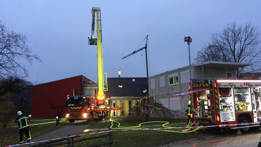 Les pompiers sont intervenus au petit matin à l'institution Pré-de-Vert.