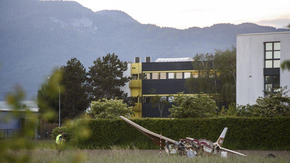 L'avion s'était écrasé dans un champ des Avouillons, juste après le décollage. Les conclusions de l'enquête n'ont pas encore été rendues.