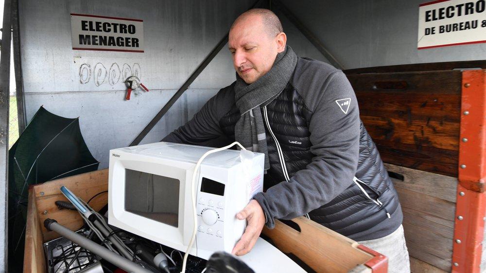 Se débarrasser d'un appareil électroménager à la déchetterie intercommunale de Signy, Arnex, Borex, Eysins, et Grens ne sera plus possible dès la semaine prochaine.