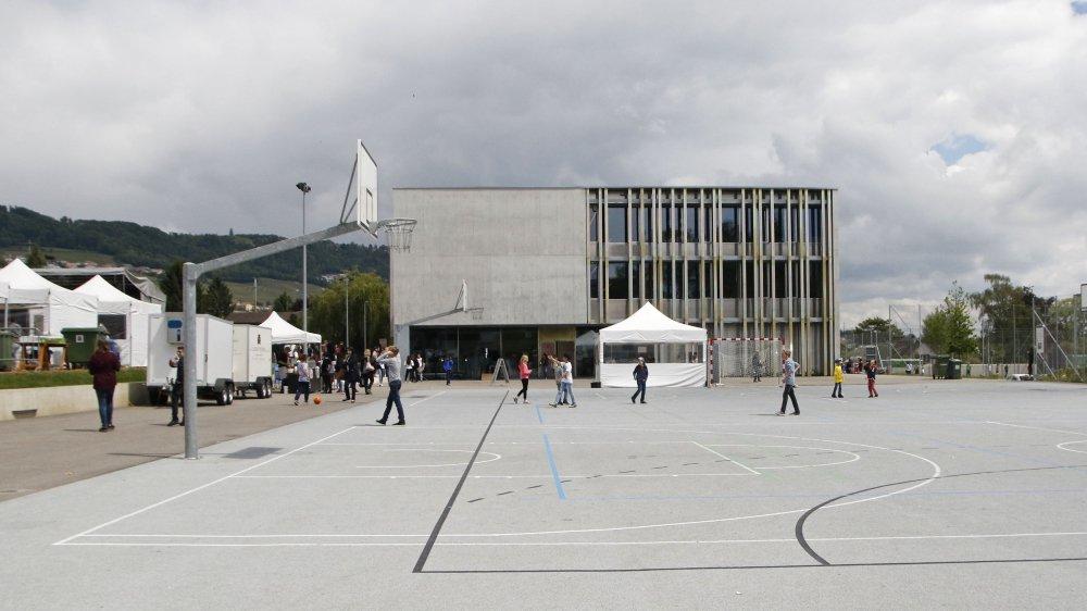 Un pavillon scolaire provisoire sera érigé dès cet été.