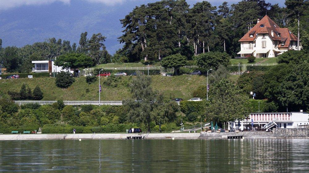 Au-dessus de la route cantonale, la promenade du Mont-Blanc va être dédiée à la flânerie.