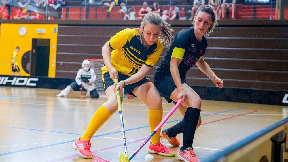 Dimanche, Magda Gonçalves et les Chiefettes ont battu Chapelle 3-2 avant de perdre contre le leader Erlenbach (7-3).