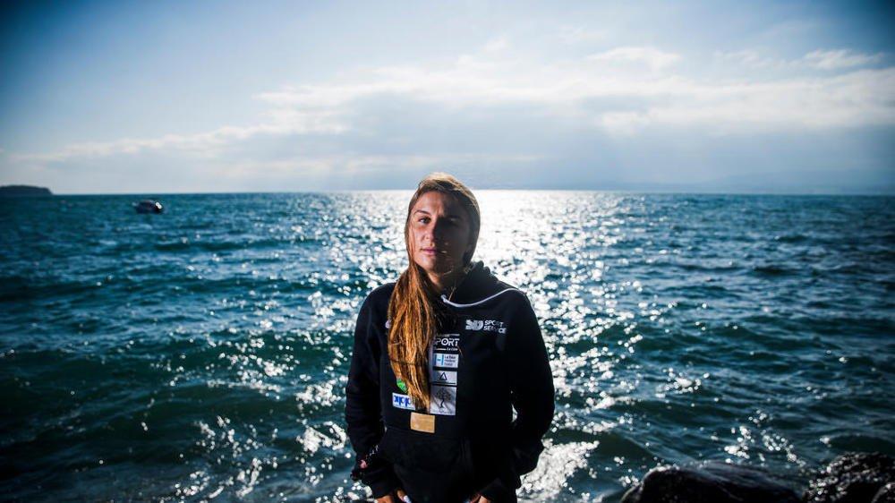 """Après avoir """"dompté"""" le Léman, la nageuse glandoise pense déjà à ses futures aventures."""
