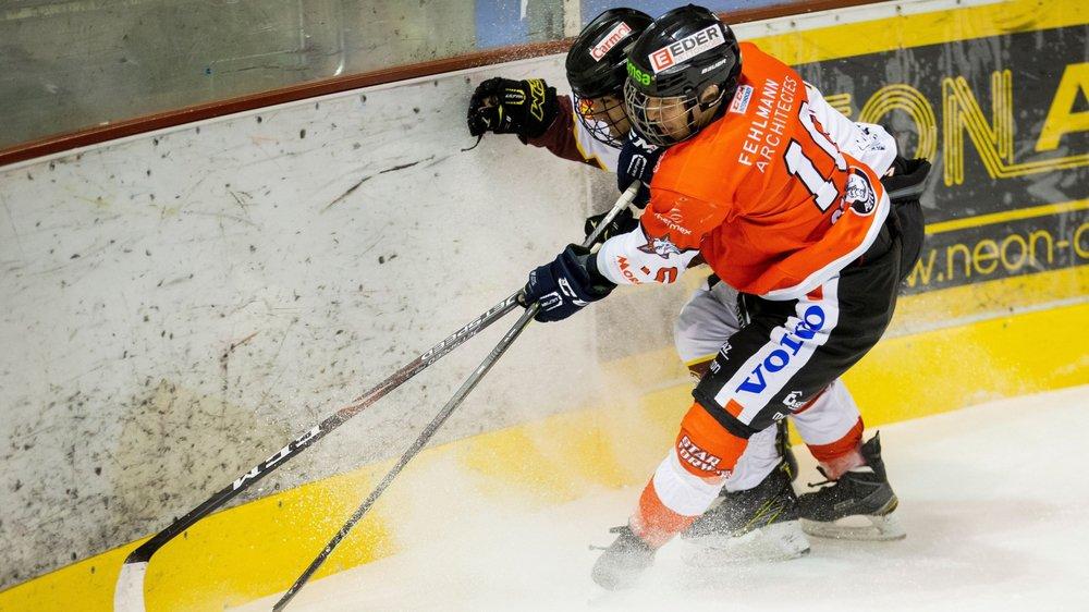 À l'image de Juan Gigon, les Bulldogs ont tout donné sur la glace samedi soir.