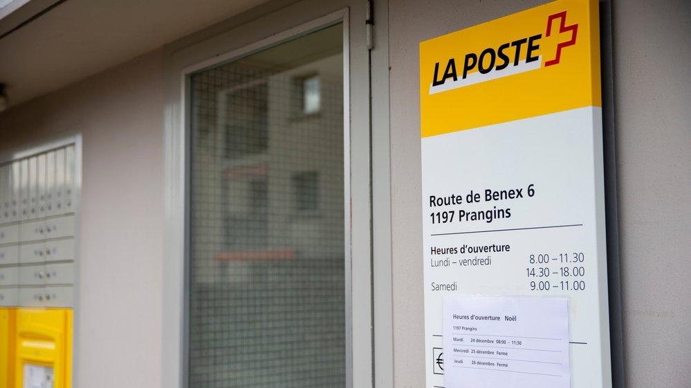 Le couperet est tombé pour la filiale de La Poste à Prangins.