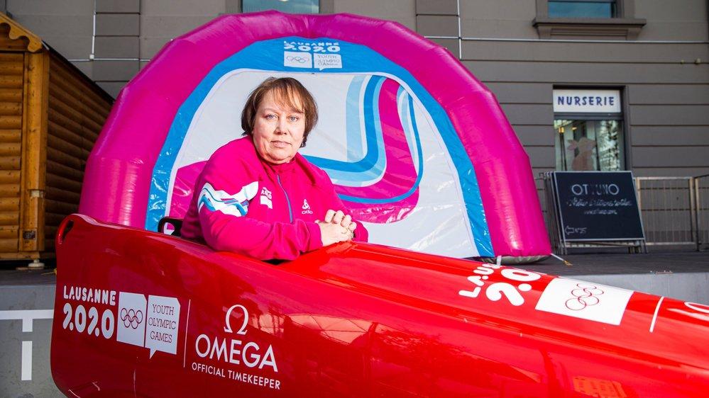 Après avoir pris part en tant qu'athlète à deux Jeux olympiques d'été, Nathalie Dielen découvre un autre aspect de la vie olympique grâce à Lausanne 2020.