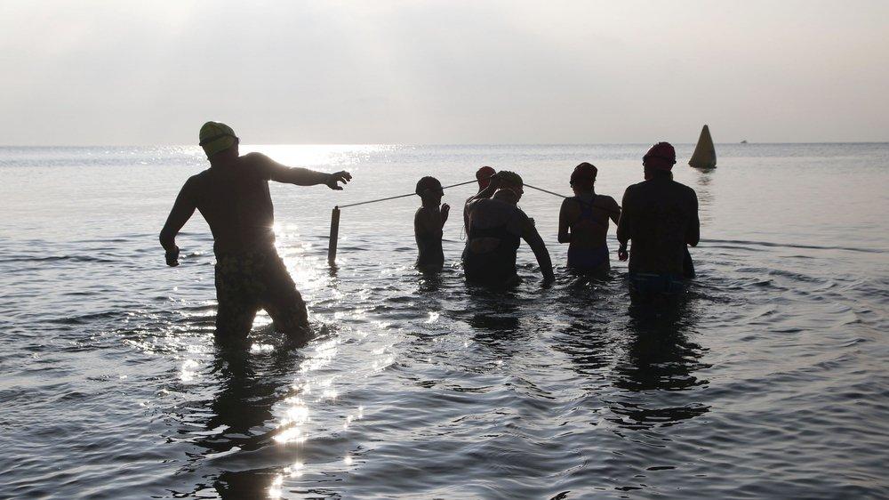 Début janvier, il faut avoir le cœur bien accroché pour se lancer dans le Léman lors de la Coupe des Glaces à Morges.