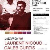 Saison Musique au chœur - Concert Nicoud & Curtis