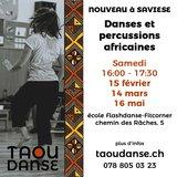 Atelier de danse africaine