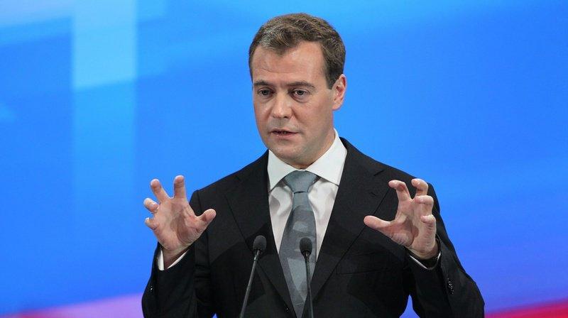 Dmitri Medvedev a tenu un discours ce mercredi. (Archives)
