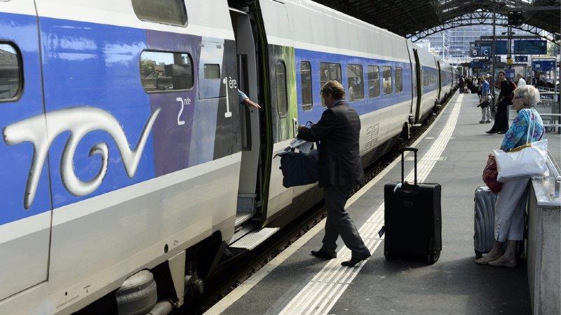 Grève en France: plus qu'un TGV par jour entre la Suisse et Paris